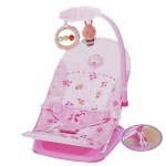 mastela fold up infant seat pink