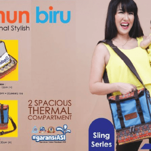 Cooler Bag GabaG Tenun Biru