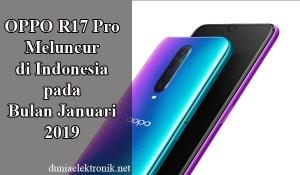 Spesifikasi Oppo R17 Pro