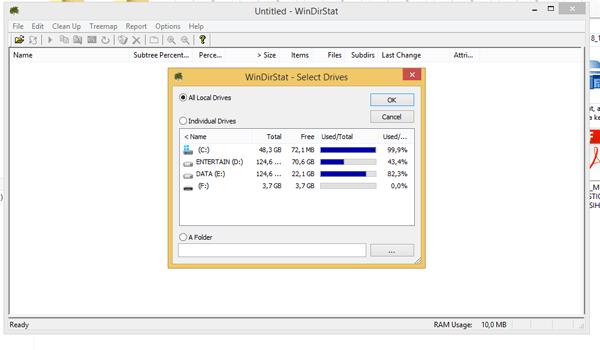 cara mengatasi memori c penuh pada laptop