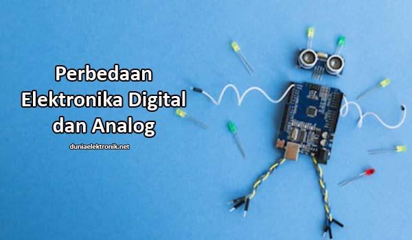 Perbedaan Elektronika Digital dan Analog