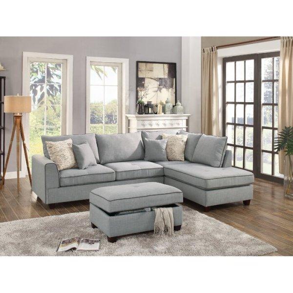 Kursi Sofa Set Malta Sectional