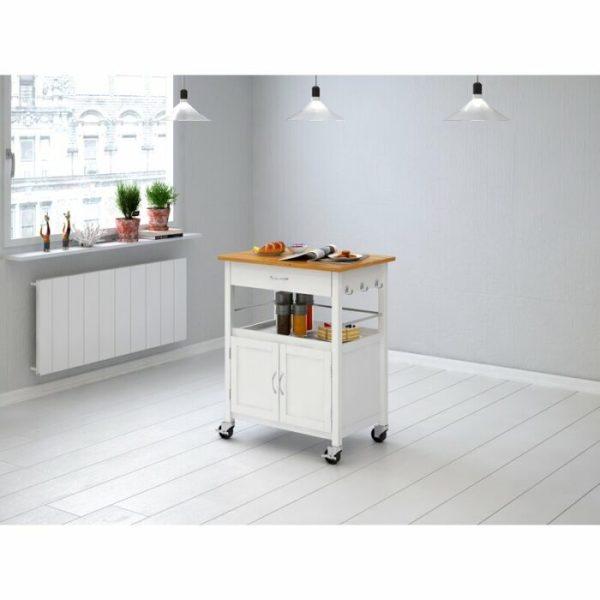 Meja Dapur Dorong Minimalis Simpel Mcconnell