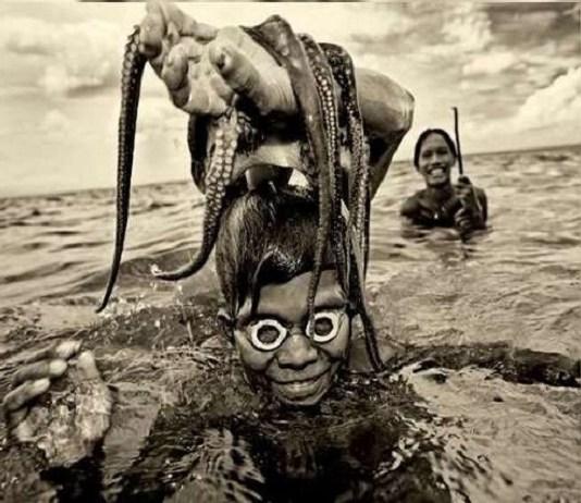 समुद्र में रहती है इंसानों की ये प्रजाति, ocean badjao tribe - duniya samachar