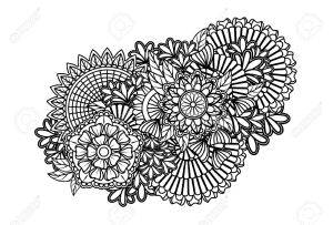 31368764-Zentangle-pattern-Stock-Vector