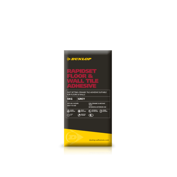 RapidSet Floor   Wall   Tile Adhesives   Dunlop TRade