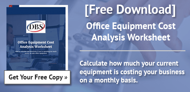 Office Equipment Cost Analysis Worksheet