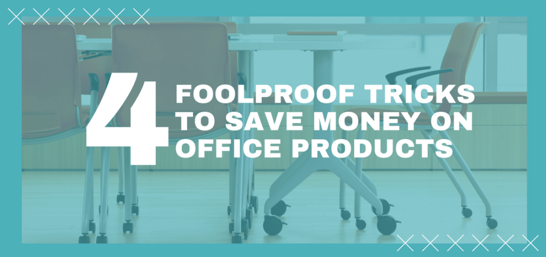 tricks to save money on office products