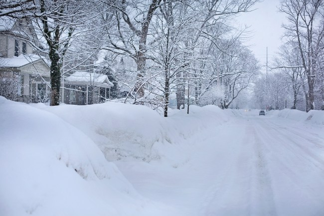 northern michigan snow blizzards