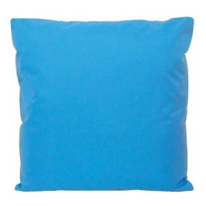 aqua blue water resistant indoor outdoor scatter cushion