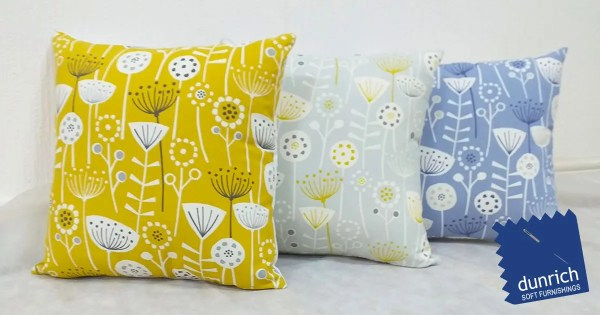bergen floral pattern scatter cushions