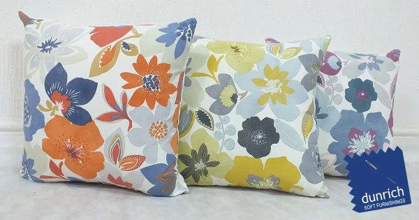 bold flower pattern scatter cushion design fb