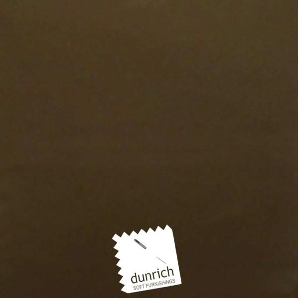 brown cotton drill cut fabric