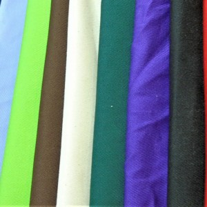 cotton drill cut fabric colours