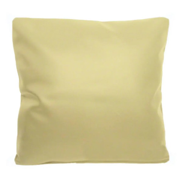 cream faux leather scatter cushion covers