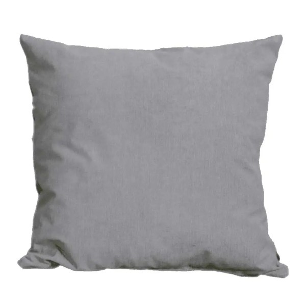 dark grey suede feel scatter cushion
