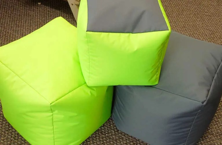 Cubes, Footstools and Pouffes
