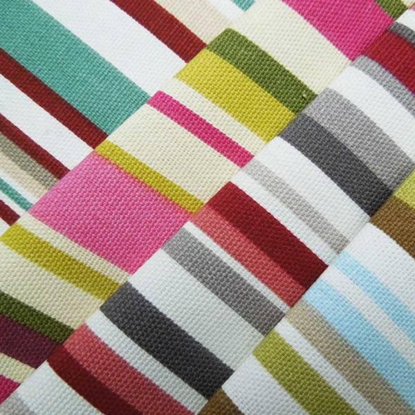 goa striped cotton fabric to order