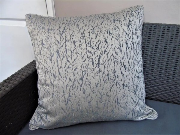 marble effect grey cut fabric to order