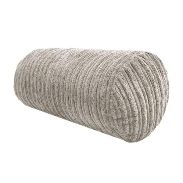 mink chunky cord cylinder bolster cushions