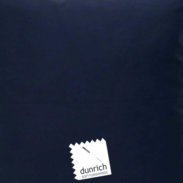 navy blue cotton drill cut fabric