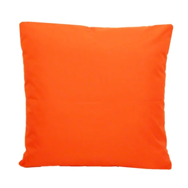 orange water resistant indoor outdoor scatter cushion