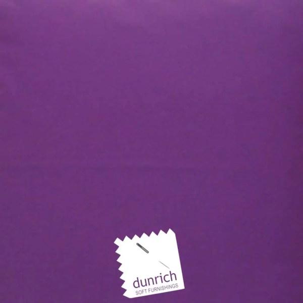purple cotton drill cut fabric