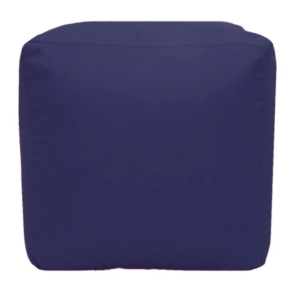 purple water resistant cubes footstools