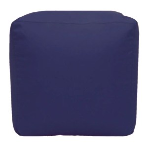 purple water resistant cubes footstools