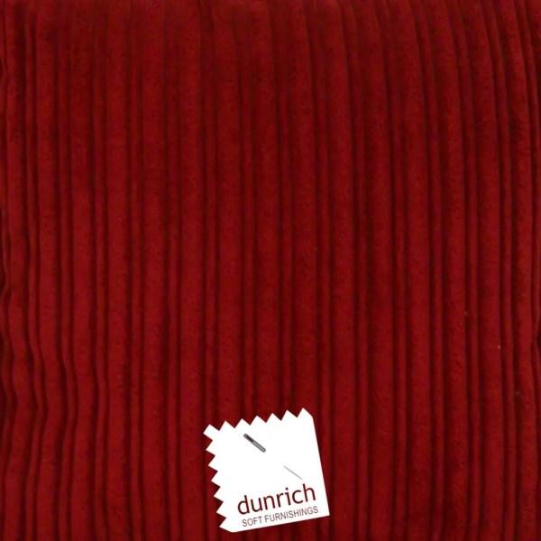 red chunky cord cut fabric to order