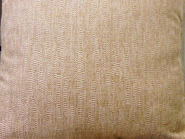 striped flower cut fabric beige
