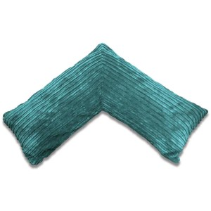 teal pregnancy v pillow chunky cord