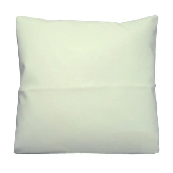 whiter faux leather scatter cushion covers