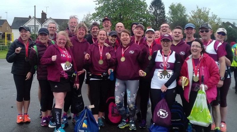 Group photo at Flitwick 10k