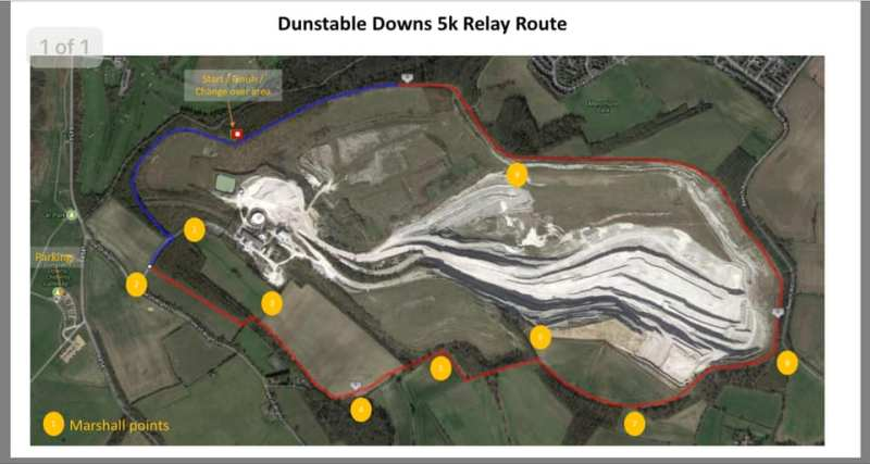 relay route