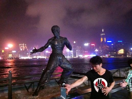 Bruce Lee Heykeli