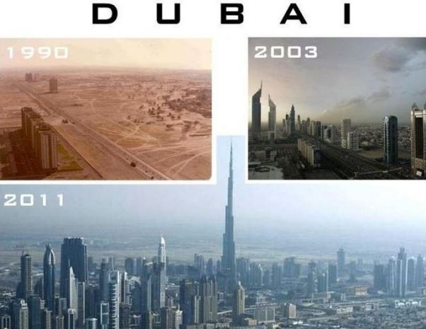 Dubai önce sonra