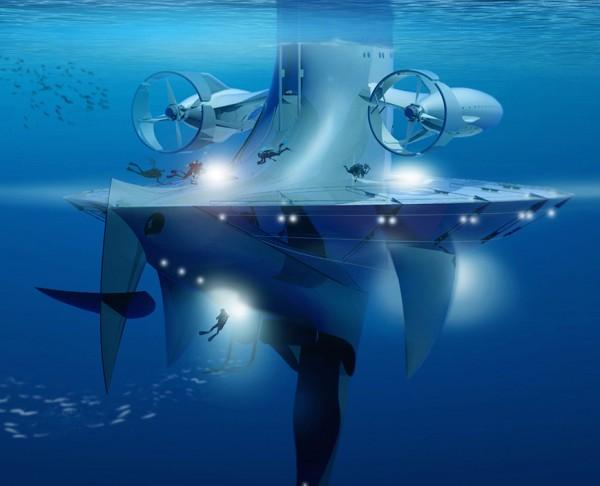 SeaOrbiter her detayıyla heyecan verici. Adeta Jules Verne romanlarından çıkmış gibi.
