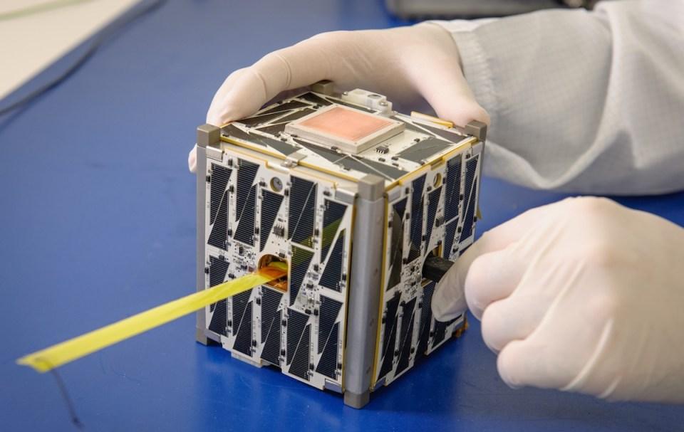 CubeSat kesinlikle boyundan büyük işlere kadir.
