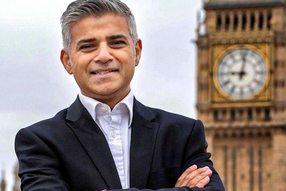 Londra'nın yeni Belediye Başkanı Sadiq Khan.