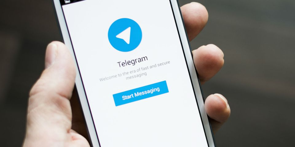 telegram sign