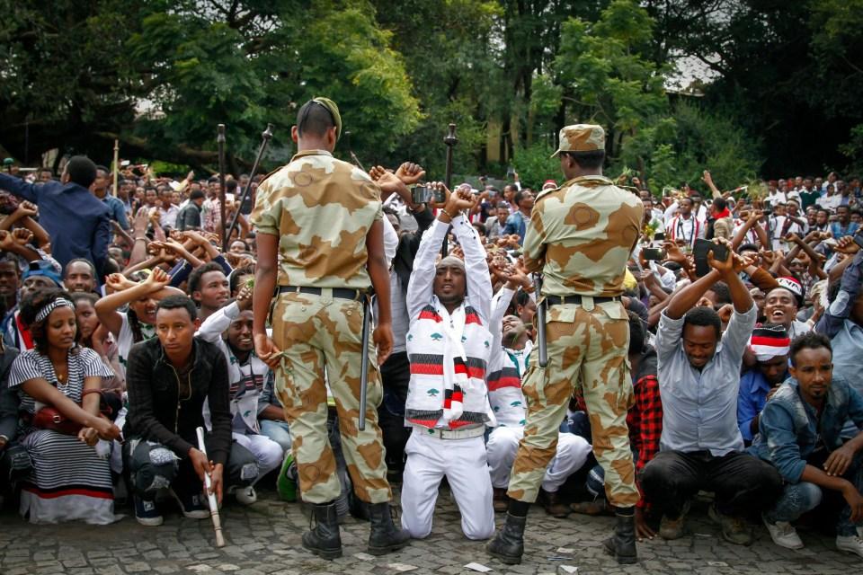 Olağanüstü halin sürdüğü Etiyopya'da ülkedeki durumu sosyal medya üzerinden duyurmak suç.