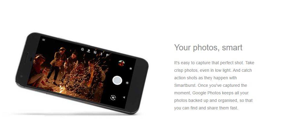 Pixel, karanlık ya da hareketli ortamlarda güzel fotoğraflar çekmenizi sağlıyor.