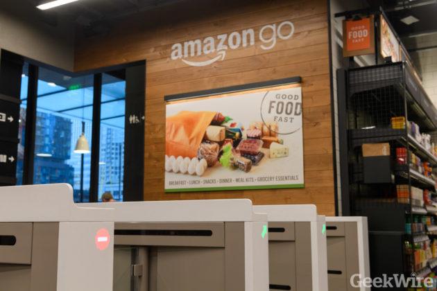 Amazon Go store launch in Seattle