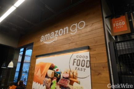 Amazon Go store launch in Seattle