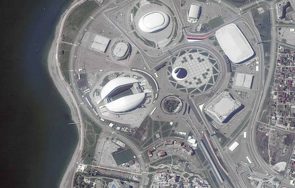 Fisht Stadyumu - Sochi