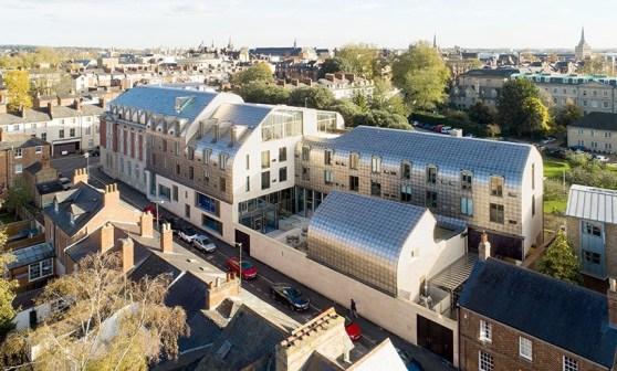 Exeter College Cohen Quadrangle - Alison Brooks Architects, Oxford, Birleşik Krallık