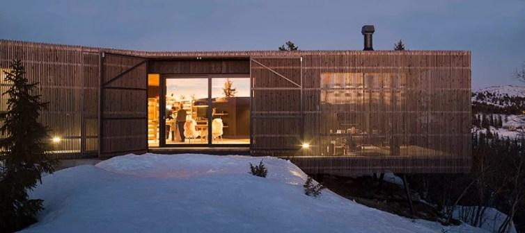 Cabin Kvitfjell - Lund Hagem Architects, Kvitfjell, Norveç