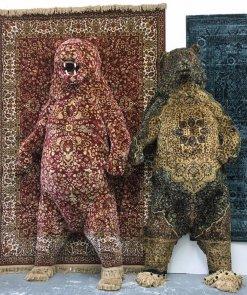 debbie-lawson-persian-rug-animal-sculptures-1-1