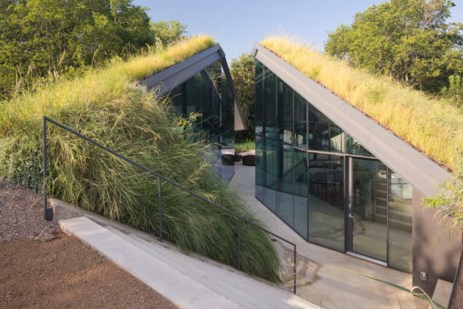 Dugout House (Sığınak Ev) - Teksas, ABD